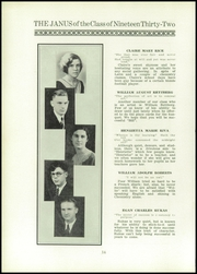 Page 16, 1932 Edition, East Hartford High School - Janus Yearbook (East Hartford, CT) online yearbook collection