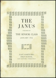 Page 3, 1932 Edition, East Hartford High School - Janus Yearbook (East Hartford, CT) online yearbook collection