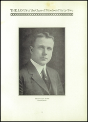 Page 7, 1932 Edition, East Hartford High School - Janus Yearbook (East Hartford, CT) online yearbook collection