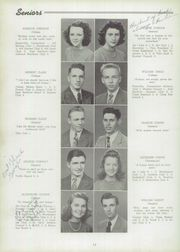 Page 16, 1944 Edition, East Hartford High School - Janus Yearbook (East Hartford, CT) online yearbook collection
