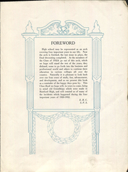 Page 9, 1932 Edition, Hartford Public High School - Yearbook (Hartford, CT) online yearbook collection