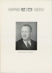 Page 8, 1939 Edition, Hartford Public High School - Yearbook (Hartford, CT) online yearbook collection
