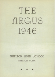 Page 6, 1946 Edition, Shelton High School - Argus Yearbook (Shelton, CT) online yearbook collection