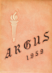 1959 Edition, Shelton High School - Argus Yearbook (Shelton, CT)