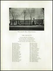 Page 10, 1932 Edition, William Hall High School - Hallmark Yearbook (West Hartford, CT) online yearbook collection