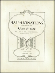 Page 5, 1932 Edition, William Hall High School - Hallmark Yearbook (West Hartford, CT) online yearbook collection