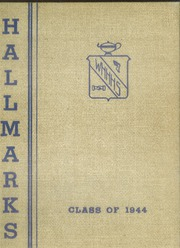 1944 Edition, William Hall High School - Hallmark Yearbook (West Hartford, CT)