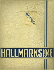 1948 Edition, William Hall High School - Hallmark Yearbook (West Hartford, CT)
