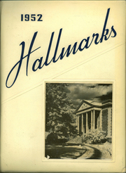 1952 Edition, William Hall High School - Hallmark Yearbook (West Hartford, CT)