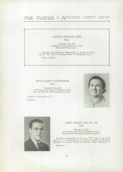 Page 10, 1937 Edition, Windsor High School - Tunxis Yearbook (Windsor, CT) online yearbook collection