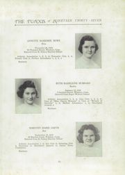 Page 15, 1937 Edition, Windsor High School - Tunxis Yearbook (Windsor, CT) online yearbook collection