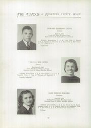 Page 16, 1937 Edition, Windsor High School - Tunxis Yearbook (Windsor, CT) online yearbook collection