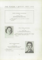 Page 17, 1937 Edition, Windsor High School - Tunxis Yearbook (Windsor, CT) online yearbook collection