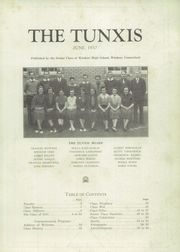 Page 3, 1937 Edition, Windsor High School - Tunxis Yearbook (Windsor, CT) online yearbook collection