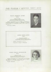 Page 7, 1937 Edition, Windsor High School - Tunxis Yearbook (Windsor, CT) online yearbook collection