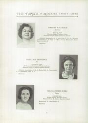 Page 8, 1937 Edition, Windsor High School - Tunxis Yearbook (Windsor, CT) online yearbook collection