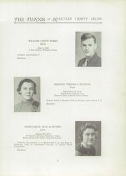 Page 9, 1937 Edition, Windsor High School - Tunxis Yearbook (Windsor, CT) online yearbook collection