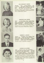 Page 36, 1953 Edition, Windsor High School - Tunxis Yearbook (Windsor, CT) online yearbook collection