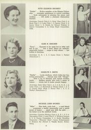 Page 44, 1953 Edition, Windsor High School - Tunxis Yearbook (Windsor, CT) online yearbook collection