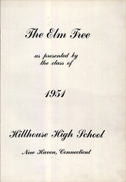 Page 7, 1951 Edition, Hillhouse High School - Elm Tree Yearbook (New Haven, CT) online yearbook collection