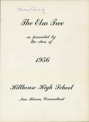 Page 7, 1956 Edition, Hillhouse High School - Elm Tree Yearbook (New Haven, CT) online yearbook collection