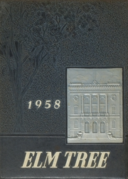 1958 Edition, Hillhouse High School - Elm Tree Yearbook (New Haven, CT)