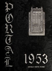 1953 Edition, Weaver High School - Portal Yearbook (Hartford, CT)