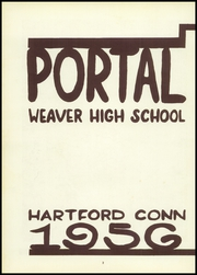 Page 6, 1956 Edition, Weaver High School - Portal Yearbook (Hartford, CT) online yearbook collection