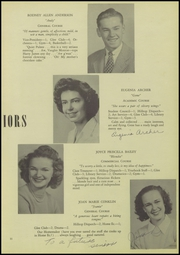 Page 15, 1946 Edition, Ridgefield High School - Caudatowan Yearbook (Ridgefield, CT) online yearbook collection