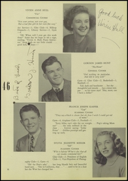 Page 17, 1946 Edition, Ridgefield High School - Caudatowan Yearbook (Ridgefield, CT) online yearbook collection