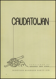 Page 6, 1946 Edition, Ridgefield High School - Caudatowan Yearbook (Ridgefield, CT) online yearbook collection