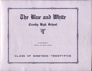 Page 7, 1925 Edition, Crosby High School - Blue and White Yearbook (Waterbury, CT) online yearbook collection