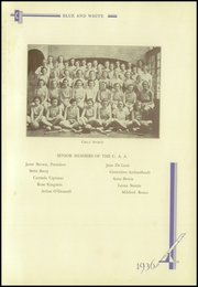 Page 145, 1936 Edition, Crosby High School - Blue and White Yearbook (Waterbury, CT) online yearbook collection