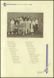 Page 161, 1936 Edition, Crosby High School - Blue and White Yearbook (Waterbury, CT) online yearbook collection