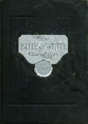 Page 1, 1940 Edition, Crosby High School - Blue and White Yearbook (Waterbury, CT) online yearbook collection