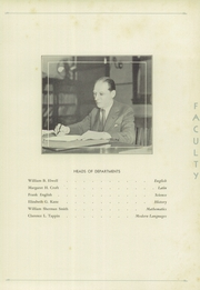 Page 15, 1940 Edition, Crosby High School - Blue and White Yearbook (Waterbury, CT) online yearbook collection