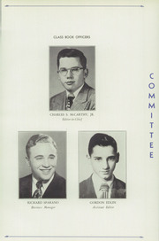 Page 11, 1950 Edition, Crosby High School - Blue and White Yearbook (Waterbury, CT) online yearbook collection