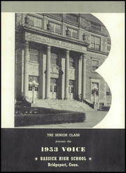 Page 5, 1953 Edition, Bassick High School - Voice Yearbook (Bridgeport, CT) online yearbook collection