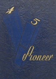 1945 Edition, East Haven High School - Pioneer Yearbook (East Haven, CT)
