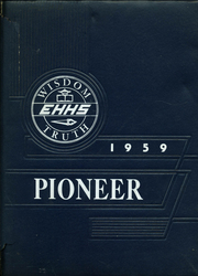1959 Edition, East Haven High School - Pioneer Yearbook (East Haven, CT)