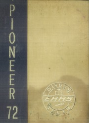 1972 Edition, East Haven High School - Pioneer Yearbook (East Haven, CT)
