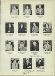 Page 11, 1952 Edition, Wethersfield High School - Elm Yearbook (Wethersfield, CT) online yearbook collection
