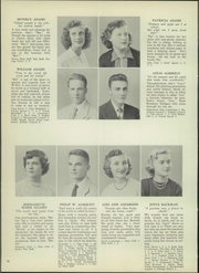 Page 16, 1952 Edition, Wethersfield High School - Elm Yearbook (Wethersfield, CT) online yearbook collection