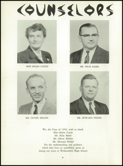 Page 10, 1958 Edition, Wethersfield High School - Elm Yearbook (Wethersfield, CT) online yearbook collection
