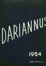 1954 Edition, Darien High School - Dariannus Yearbook (Darien, CT)