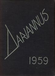 1959 Edition, Darien High School - Dariannus Yearbook (Darien, CT)