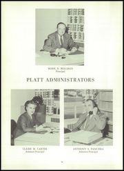 Page 10, 1960 Edition, Platt High School - Yearbook (Meriden, CT) online yearbook collection