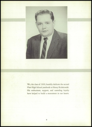 Page 6, 1960 Edition, Platt High School - Yearbook (Meriden, CT) online yearbook collection