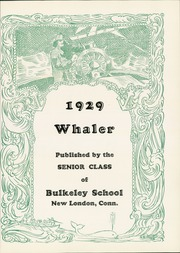 Page 7, 1929 Edition, New London High School - Whaler Yearbook (New London, CT) online yearbook collection