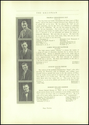 Page 14, 1929 Edition, Killingly High School - Killonian Yearbook (Danielson, CT) online yearbook collection